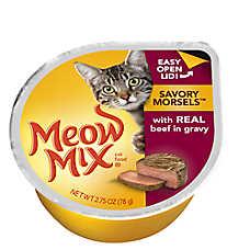 Meow Mix® Savory Morsels Cat Food