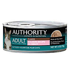 Authority® Adult Cat Food - Flaked