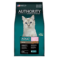 Authority® Indoor Adult Cat Food - Salmon & Rice