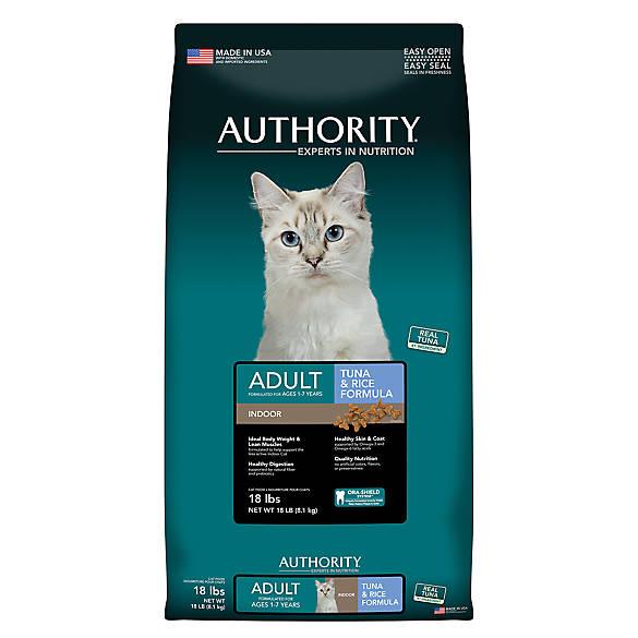 Authority Indoor Cat Food
