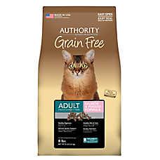 Authority® Grain Free Adult Cat Food - Salmon & Potato