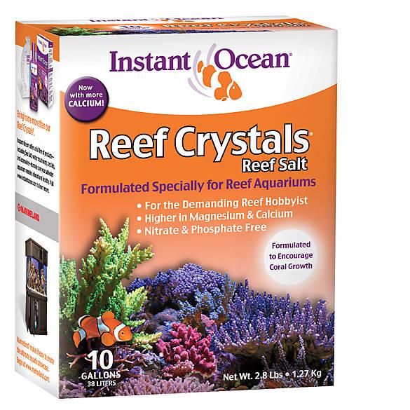 Instant Ocean Reef Crystals : Instant ocean reef crystals aquarium salt fish