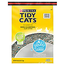 Purina® TIDY CATS® With Glade™ Cat Litter - Non-Clumping, Multi Cat, Clear Springs