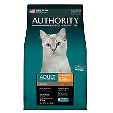 Authority® Indoor Adult Cat Food - Chicken & Rice