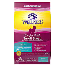 Wellness® Complete Health Small Breed Adult Dog Food - Natural, Whitefish, Salmon Meal & Peas