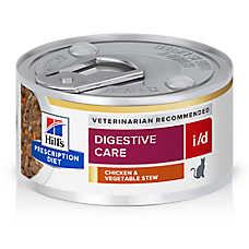 Hill's® Prescription Diet® i/d Digestive Care Cat Food - Chicken & Vegetable Stew