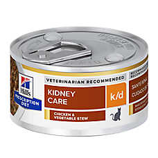 Hill's® Prescription Diet® k/d Kidney Care Cat Food - Chicken & Vegetable Stew