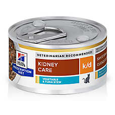 Hill's® Prescription Diet® k/d Kidney Care Cat Food - Chicken & Vegetable Stew
