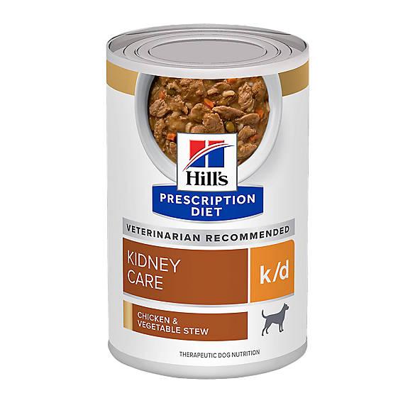 Hill S Prescription Diet K D Kidney Care With Chicken Dry: Hill's® Prescription Diet® K/d Kidney Care Dog Food