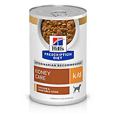 Hill's® Prescription Diet® k/d Kidney Care Dog Food - Chicken & Vegetable Stew