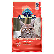 BLUE Wilderness® Grain Free Chicken Indoor Hairball & Weight Control Cat Food