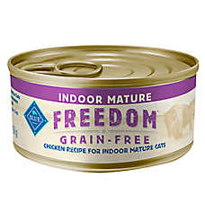 BLUE Freedom ™ Indoor Mature Cat Food - Grain Free, Chicken