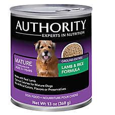 Authority® Senior Dog Food