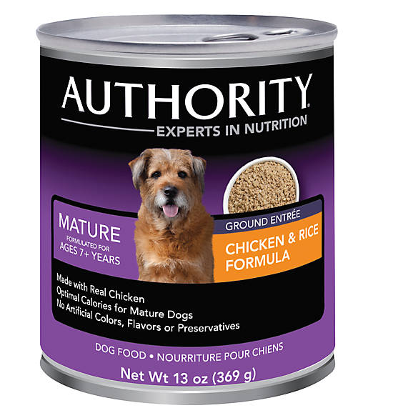 Authority Canned Dog Food