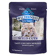 BLUE Wilderness® Wild Cuts Cat Food Topper - Natural, Grain Free