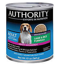 Authority® Weight Management Adult Dog Food