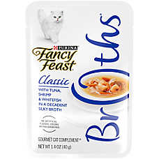 Fancy Feast® Classic Broths Cat Treat