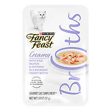 Fancy Feast® Creamy Broths Cat Treat