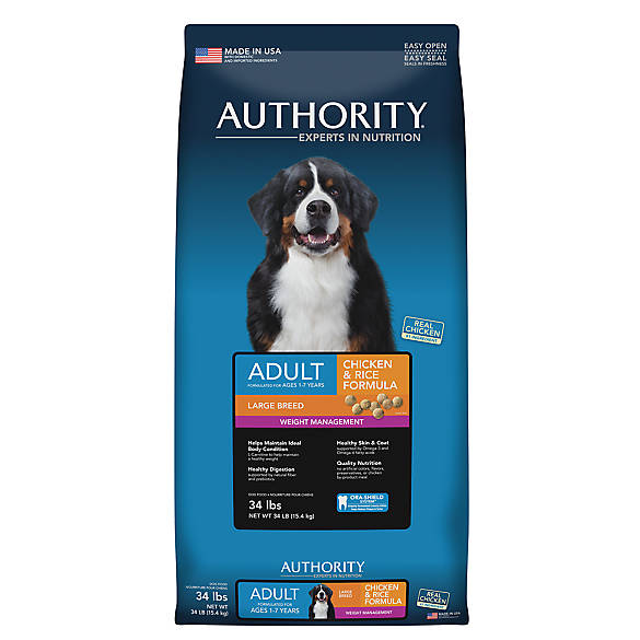 Authority Weigh Management Dog Food