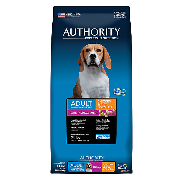 Authority Dog Food Lb