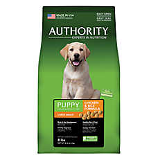 Authority® Large Breed Puppy Food - Chicken & Rice
