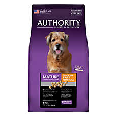 Authority® Mature Dog Food - Chicken & Rice