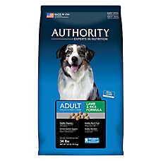 Authority® Adult Dog Food - Lamb & Rice