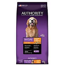Authority® Large Breed Mature Dog Food - Chicken & Rice
