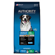 Authority® Adult Dog Food - Lamb & Rice