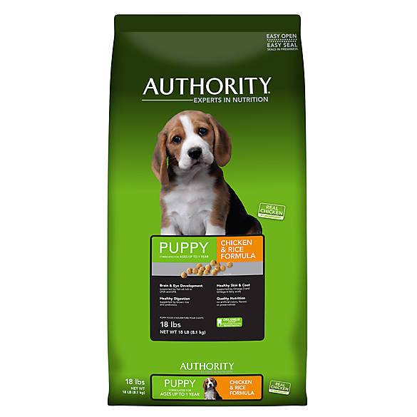 Authority Puppy Dry Dog Food