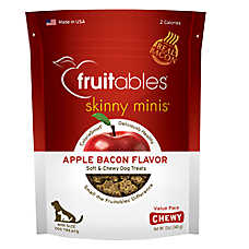 Fruitables® Skinny Minis™ Dog Treat - Natural, Apple Bacon
