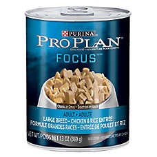 Purina® Pro Plan® Focus Large Breed Adult Dog Food - Chicken & Rice