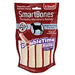 SmartBones® DoubleTime Rolls Small Dog Treat - Chicken