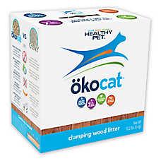 Okocat Clumping Wood Cat Litter - Natural