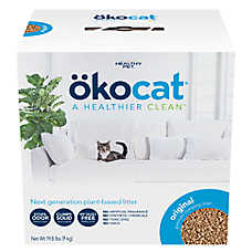 Okocat Clumping Wood Cat Litter - Natural