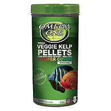 Omega™One Super Color Kelp Pellets Fish Food