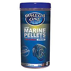 Omega one large marine pellet garlic fish food fish for Petsmart fish guarantee