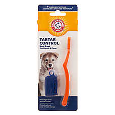 ARM & HAMMER™ Tartar Control Small Breed Dog Toothbrush & Cover