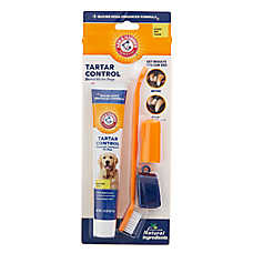 ARM & HAMMER™ Tartar Control Dog Dental Kit - Banana Mint