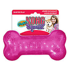 KONG® Squeezz Bone Dog Toy