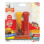 Nylabone® Flavor Frenzy Bacon Cheeseburger and Apple Pie Dog Toy