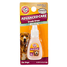 ARM & HAMMER™ Advanced Care Vanilla Ginger Fresh Breath Dog Breath Drops