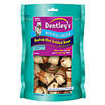 Dentley's® Chicken Small Rawhide Mini Knotted Bones Dog Treat