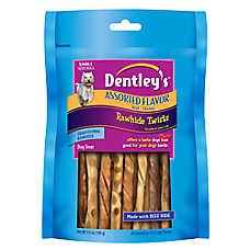 Dentley's® Rawhide Beef & Chicken Twists Dog Treat