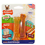 Nylabone® FlexiChew® Flavor Frenzy Bone Chew Dog Toys - 2 Pack