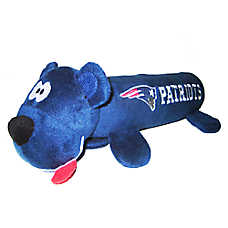 New England Patriots NFL Tube Dog Toy