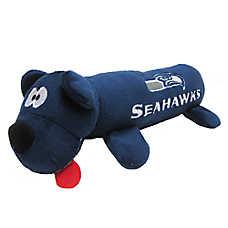 Seattle Seahawks NFL Tube Dog Toy