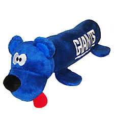 New York Giants NFL Tube Dog Toy
