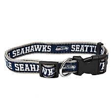 Seattle Seahawks NFL Dog Collar