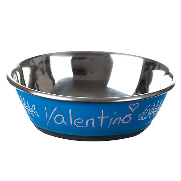 Whisker city chalk board cat bowl cat food water for Petsmart fish bowl